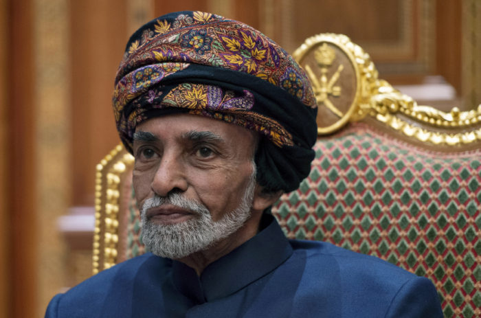 World #2 – Oman's Sultan Qaboos, the Arab world's longest-serving ruler