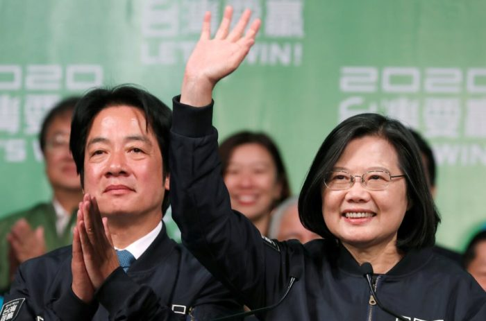 World #1 – Tsai Ing-wen wins landslide in Taiwan presidential election