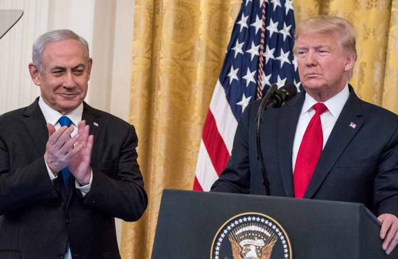 Trump Mideast peace plan expands Israeli territory, offers path to Palestinian statehood