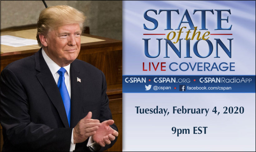 2020 State of the Union: Trump plans optimistic address
