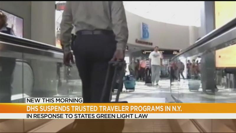 DHS suspends Global Entry program for New Yorkers following sanctuary law