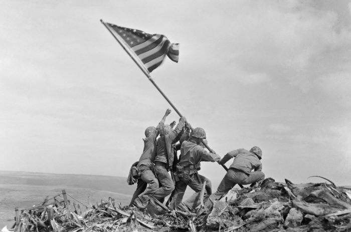 Combat photographers of Iwo Jima
