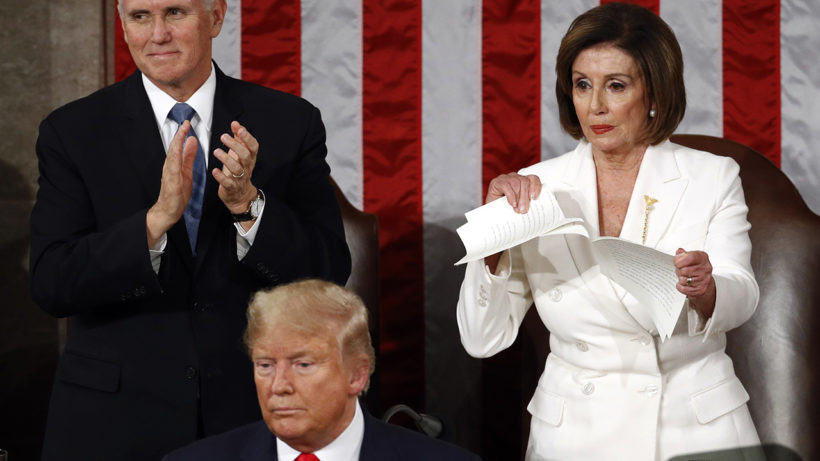 SOTU Guest Whose Brother Was Murdered Reacts to Pelosi Ripping Up Speech
