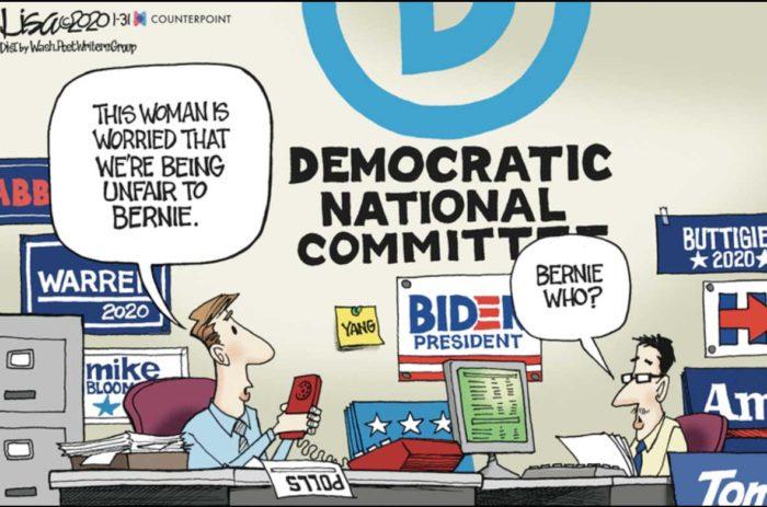 Unfair to Bernie?