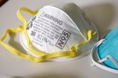 LA Times and Bloomberg News:  Federal stockpile of N95 masks was depleted under Obama