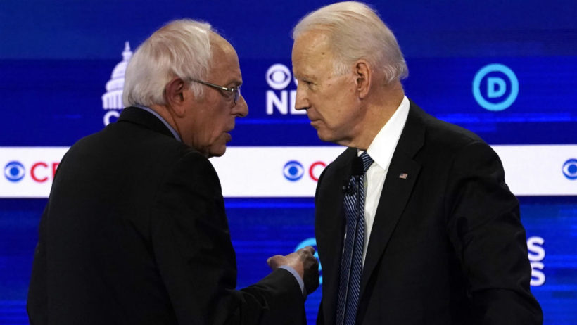 Super Tuesday triumph for Biden sets up one-on-one battle against Sanders