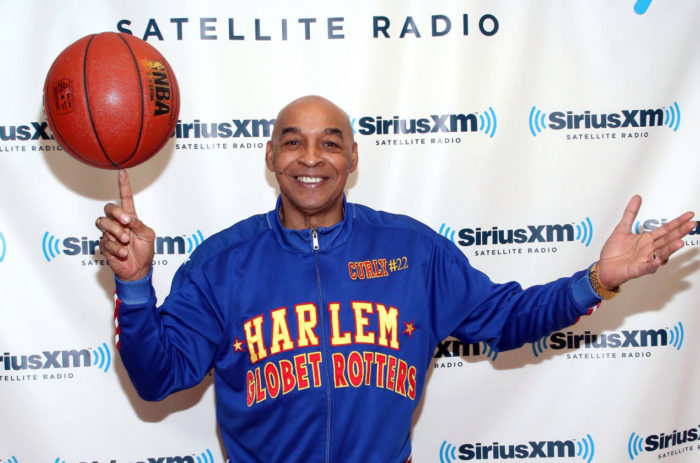 Harlem Globetrotter great Curly Neal