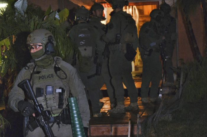 Massive DEA raid targets drug cartel