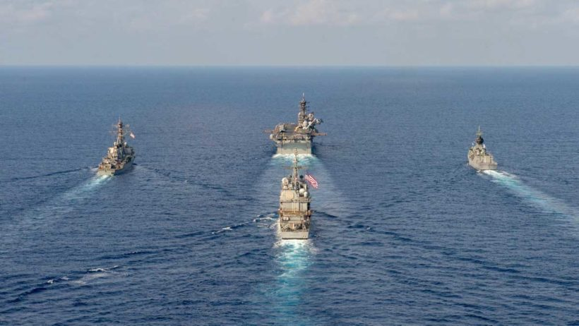 2nd US Navy Ship Conducts Freedom of Navigation Operation, China Angry
