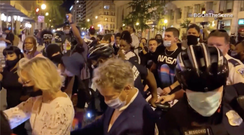 Senator accosted, menaced by BLM protesters