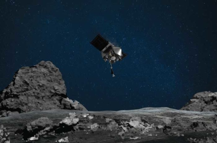 NASA makes history collecting samples from asteroid 200 million miles away