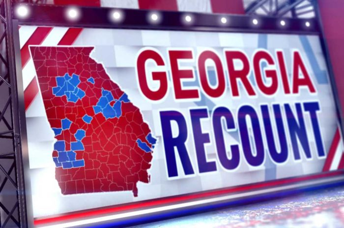 Georgia recount announced, ballots to be counted by hand