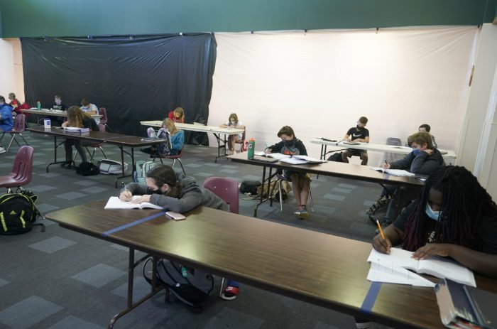 Some schools get creative: Convention centers, museums become classrooms