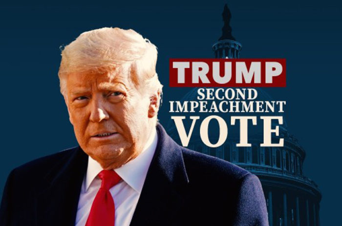 Democrats, 10 Republicans Vote for 2nd Impeachment Against Trump