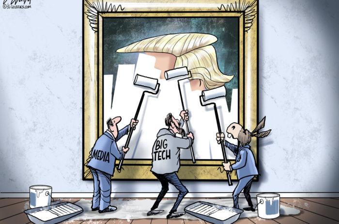 Erasing Trump