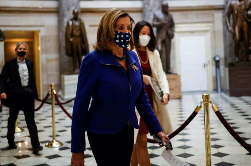 Speaker Pelosi bypasses metal detectors she installed; fines Republicans $5,000 for doing the same