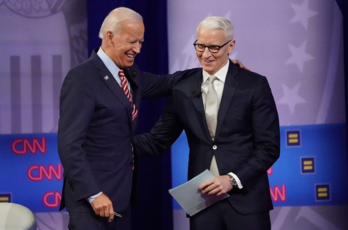 President Biden answers voters questions at campaign-style townhall
