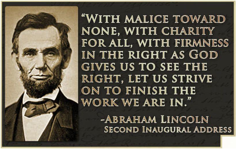 Abraham Lincoln – The Great Emancipator