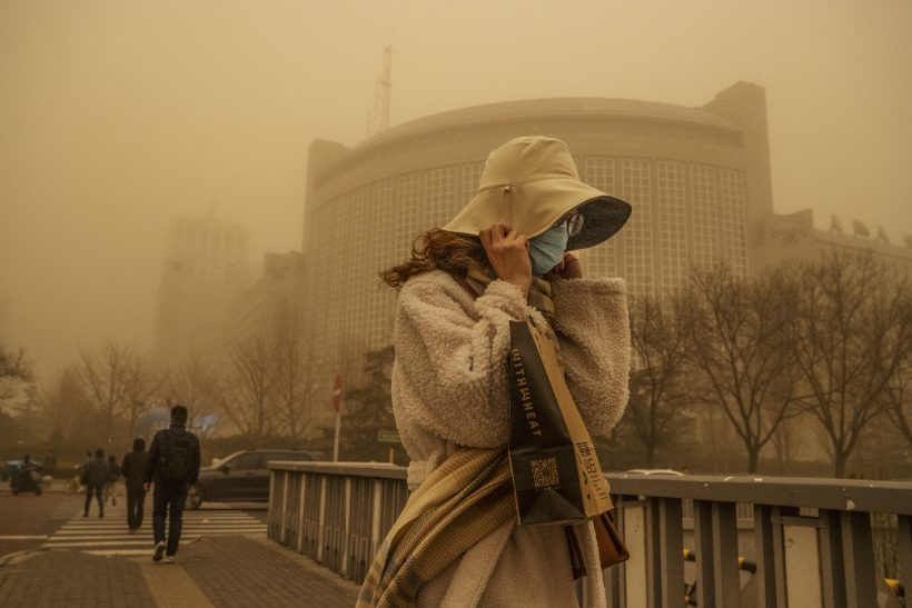 World #3 – Beijing enveloped in hazardous sandstorm for 2nd time in two weeks