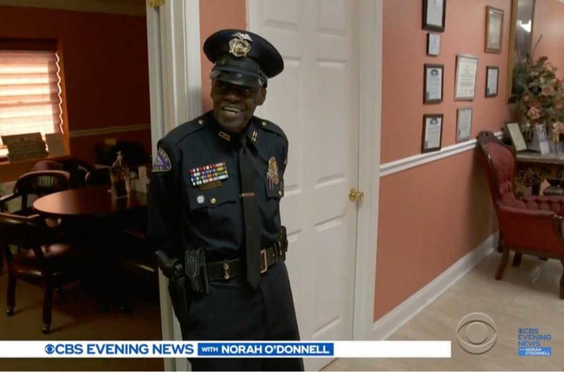 91-year-old police officer has no plans to retire