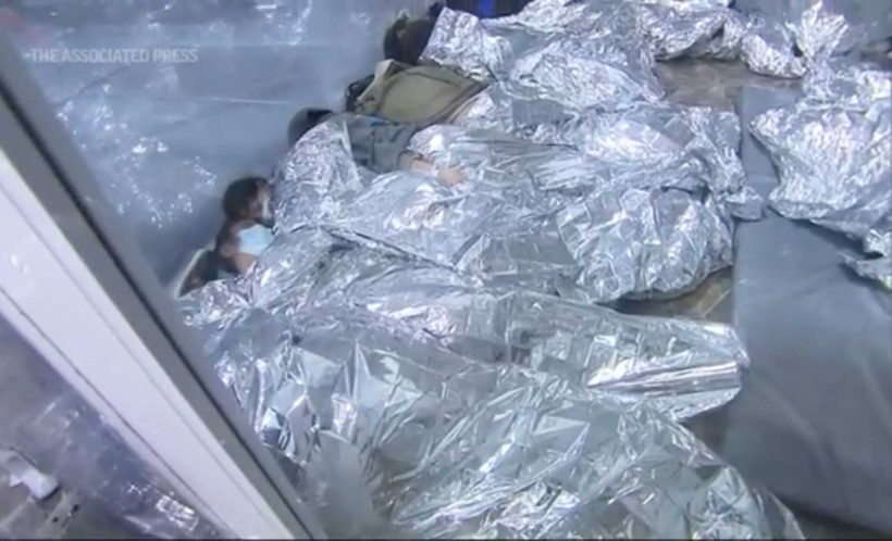 Over 4,000 migrants, many children, held in cramped Texas tent facility