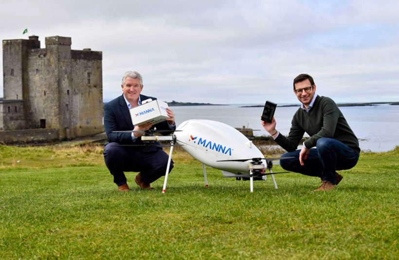 World #2 – Samsung Electronics launches drone deliveries in Ireland