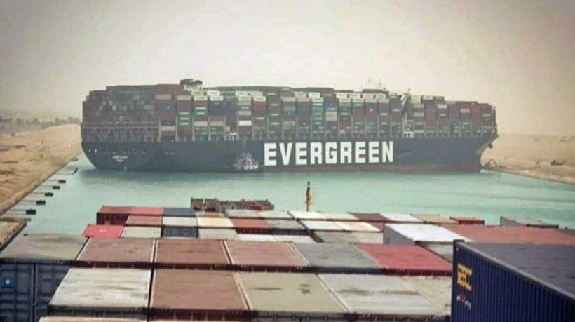 Megaship stuck sideways in Suez Canal, disrupting global trade