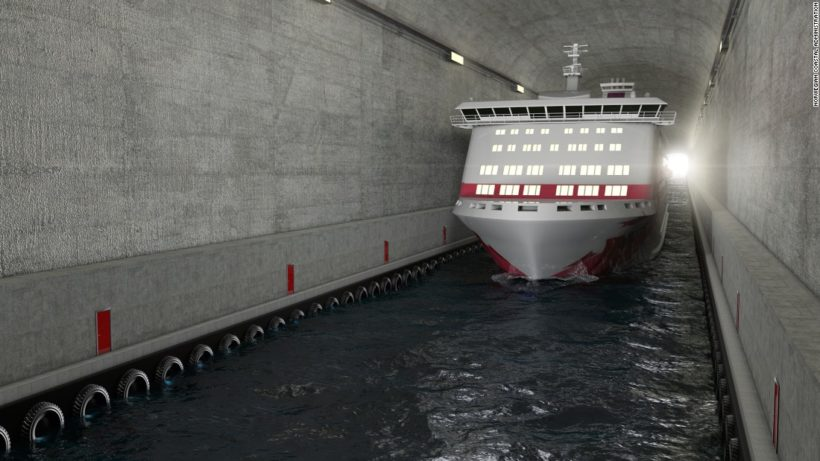 World #3 – Norway to build world's first ship tunnel
