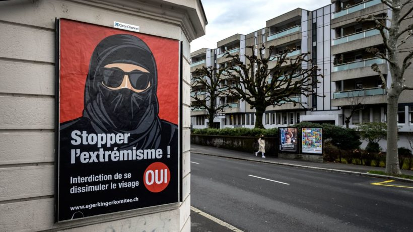 World #2 – Swiss vote to ban face coverings in public