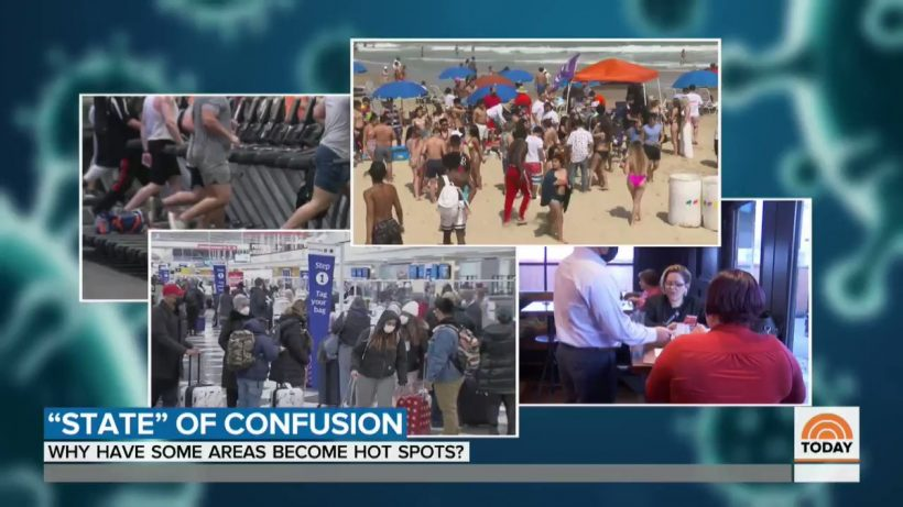 NBC's Today show baffled by lower COVID rates in reopened states