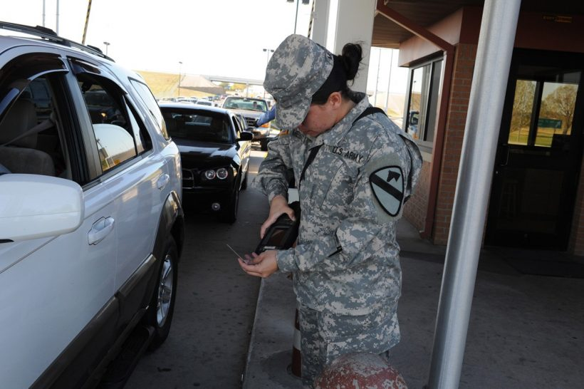 US Army developing facial recognition to scan people in moving cars at base gates