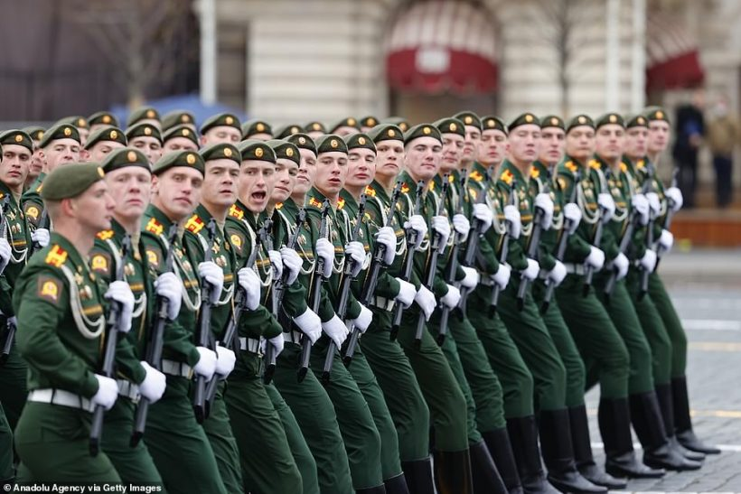 World #2 – Putin denounces return of 'Russophobia' during Russia's annual Victory Day parade