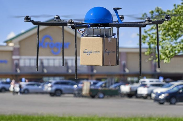 Kroger testing drone delivery service for small groceries, items in Ohio