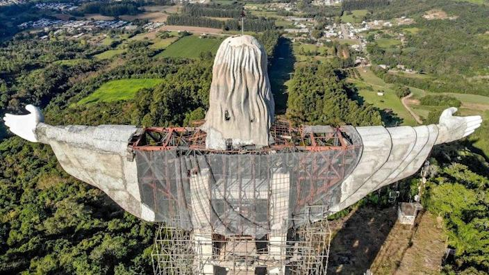 World #3 – Brazil building new giant Christ statue, taller than Rio's